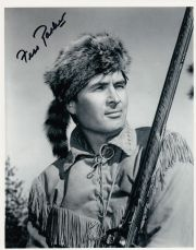 P151FPDC FESS PARKER SIGNED DAVY CROCKETT SIGNED 10X8 PHOTO GUARANTEED AUTHENTIC AUTOGRAPH …